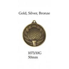 Golf Medals Heavyweight 1073-10G - 50mm