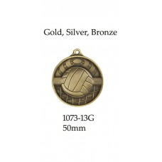 Volleyball Medals 1073-13G - 50mm