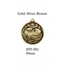 Boxing Medals 1073-32G, S or B - 50mm