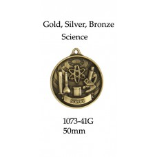 Knowledge Science Medals 1073-41G - 50mm