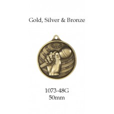 Knowledge Medals 1073-48G, S & BR - 50mm