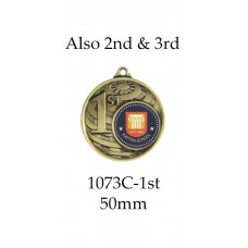 Knowledge Dux Medals 1073-C-1st -  G, S & B - 50mm