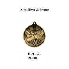 Baseball Softball Medals 1076-5G - 50mm