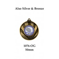 Baseball Softball Medals - 1076-OG Medal 50mm