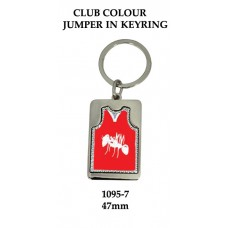 Key Ring Aussie Rules1095-7 - 47mm (Min 20)