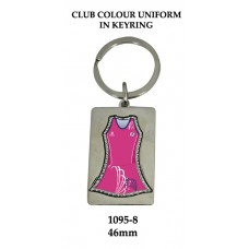 Key Ring 1095-8 - Netball 46mm (Min 20)