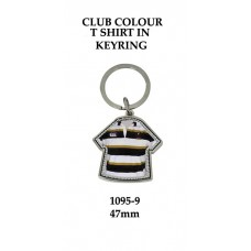 Key Rings Rugby 1095-9 - 47mm (Min Qty 20)