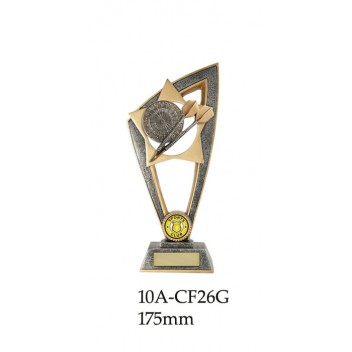 DartsTrophies 10A-CF26G - 175mm Also 200m & 230mm