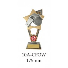AFL Aussie Rules Whistle  10A-CFOW - 175mm Also 200mm & 230mm