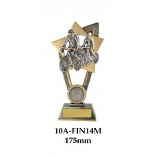 Cycling Trophies 10A-FIN14M - 175mm Also 200mm & 230mm