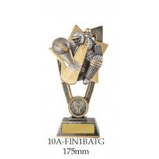 Cricket Trophies 10A-FIN1BATG - 175mm Also 200mm & 230mm