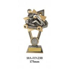 Motorsport Go Kart Trophies 10A-FIN23B - 175mm Also 200mm & 230mm