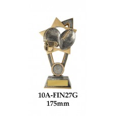 Grid Iron Trophies 10A-FIN27G - 175mm Also 200mm & 230mm