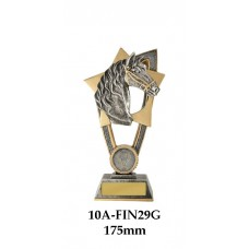Equestrian Trophies 10A-FIN29G - 175mm Also 200mm & 230mm