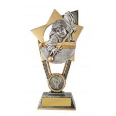 Billiards Snooker Trophies 10A-FIN34GA - 175mm