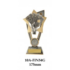 Playing Cards Trophies 10A-FIN54G -175mm Also 200mm & 230mm