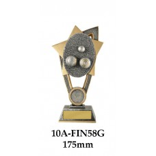 Lawn Bowls Trophies 10A-FIN58G - 175mm Also 200mm & 230mm