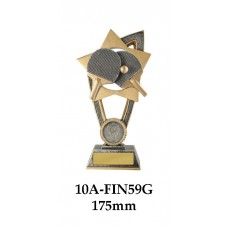 Table Tennis Trophies 10A-FIN59G - 175mm Also 200mm & 230mm