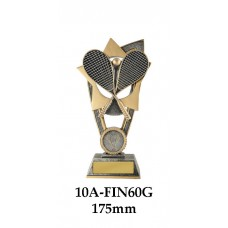 Squash Trophies 10A-FIN60G - 175mm Also 200mm & 230mm