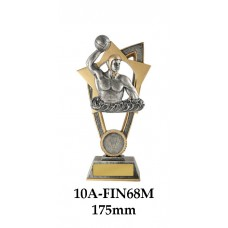 Water Polo Trophies 10A-FIN68M - 175mm Also 200mm & 230mm