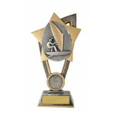 Wind Surfing Trophies 10A-FIN71G - 175mm  Also 200mm & 230mm