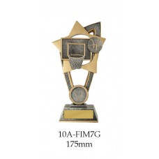 Basketball Plaque 10A-FIN7G - 175mm Also 200mm & 230mm