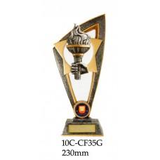 Achievement Trophies 10C-CF35G - 230mm