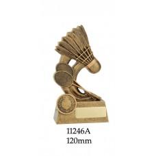 Badminton Trophies 11246A - 120mm