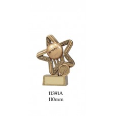 Netball Trophies 11391A - 110mm Also 135mm & 155mm