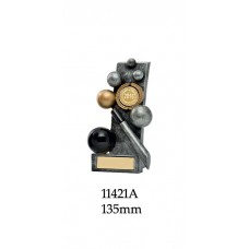 Billiards Trophies 11421A - 135mm Also 150mm