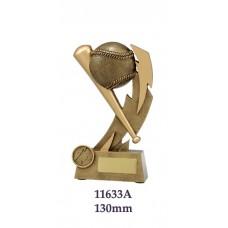 Baseball Softball Trophies 11633A  - 130mm Also 153mm & 178mm