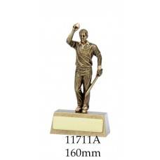 Cricket Trophies Bowler 11711A - 160mm Also 185mm 225mm 240mm & 270mm