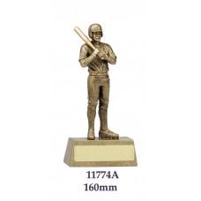 Baseball Softball Trophies Male 11774A  - 160mm