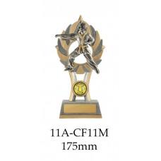 Martial Arts Trophies 11A-CF11M - 175mm Also 200mm & 230mm