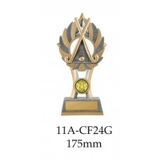 Hockey Trophies 11A-CF24G - 175mm Also 200mm & 230mm