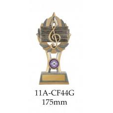 Music Trophies 11A-CF44G - 175mm