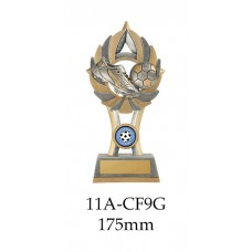 Soccer Trophies 11A-CF9G - 175mm Also 200mm & 230mm