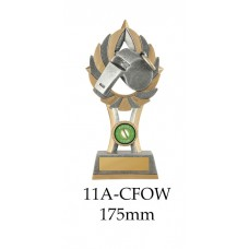Rugby Trophies Whistle 11A-CFOW - 175mm Also 200mm & 230mm