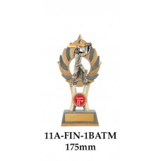 Cricket Trophies Batsman Male11A-FIN-1BATM - 175mm Also 200mm & 230mm