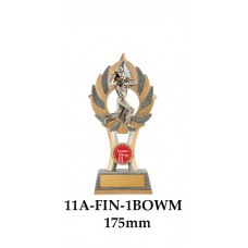 Cricket Trophies Bowler Male 11A-FIN-1BOWM - 175mm Also 200mm & 230mm