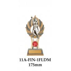 Cricket Trophies Fielder Male 11A-FIN-1FLDM - 175mm Also 200mm & 225mm