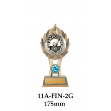 Swimming Trophies 11A-FIN-2G - 175mm aLSO 200mm & 230mm