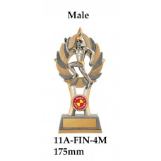 Surf Life Saving Trophies 11A-FIN-4M - 175mm Also 200mm & 230mm