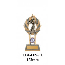 Baseball Trophies Female 11A-FIN-5F - 175mm Also 200mm & 230mm