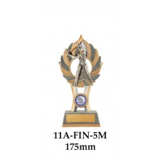 Baseball Trophies Male 11A-FIN-5M - 175mm Also 200mm & 230mm
