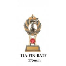 Cricket Trophies Batsman Female 11A-FIN-1BATF - 175mm Also 200mm & 230mm