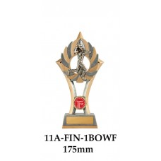 Cricket Trophies Bowler Female 11A-FIN-1BOWF - 175mm Alsp 200mm & 230mm