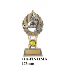 Martial Arts Trophies 11A-FIN11MA - 175mm Also 200mm & 230mm