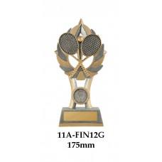 Tennis Trophies  11A-FIN-12G - 175mm Also 200mm & 230mm