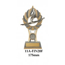 Gymnastics Trophies  11A-FIN20F - 185mm Also 200mm & 230mm